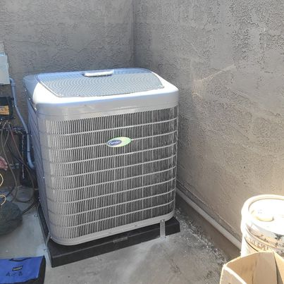 Los Angeles, CA - Replaced a condenser, coil, and furnace along with the duct work in the city of Los Angeles, CA.