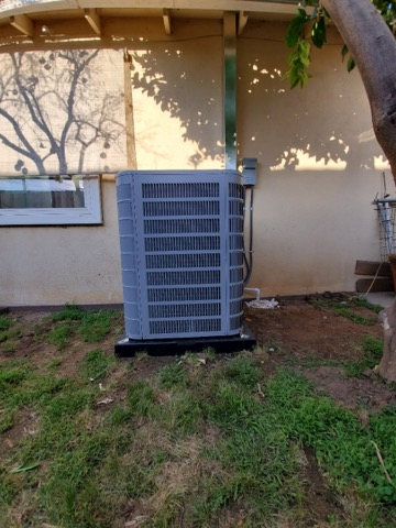 San Dimas, CA - Removed and replaced a condenser, coil, and furnace along with the duct work in the city of San Dimas, CA.