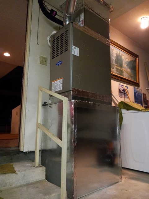 Paramount, CA - Replaced a condenser, coil,and furnace in the city of Paramount, CA.