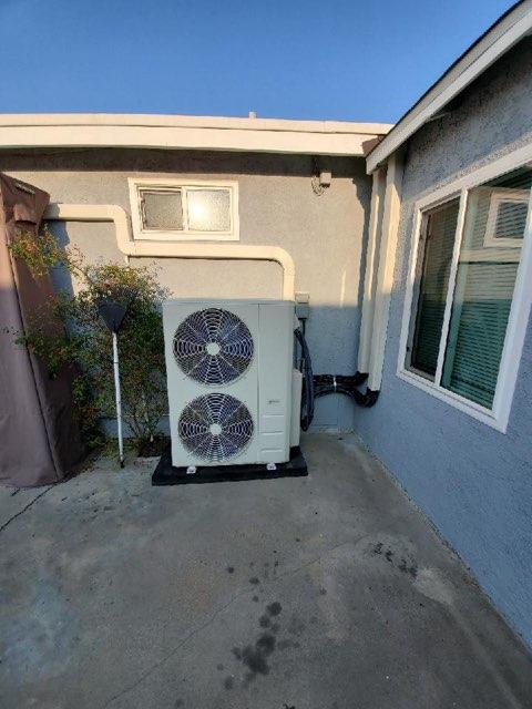 Carson, CA - Installed a mini split system in the city of Carson, CA.