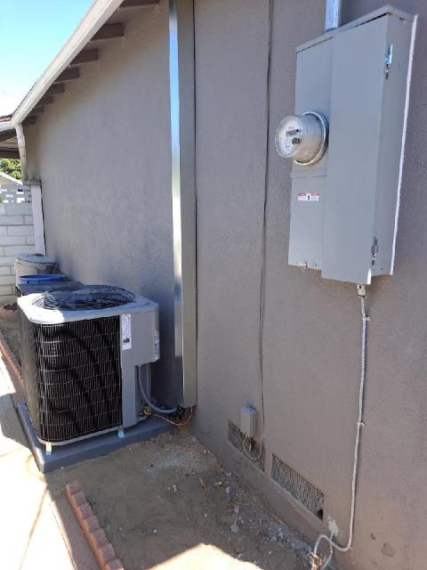 Replaced a condenser, coil and furnace along with the duct work and a panel upgrade in the city of San Gabriel, CA.