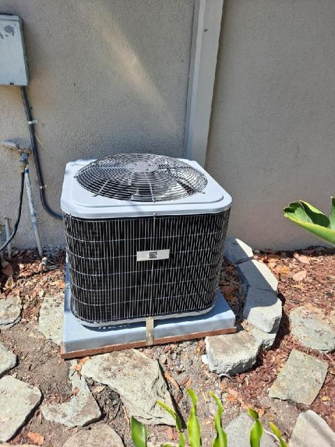 Replaced a condenser, and coil in the city of Palos Verdes Peninsula, CA.