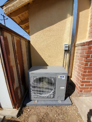 Installed a condenser, coil, and furnace along with the duct work in the city of Rowland Heights, CA.