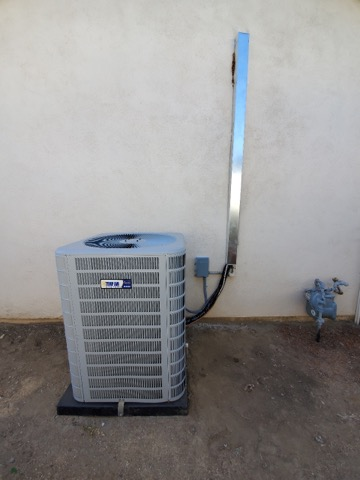 Replaced a condenser, coil, and furnace in the city of Placentia, CA.