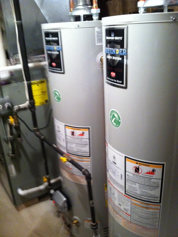 Plainfield, IL - Replace water heaters