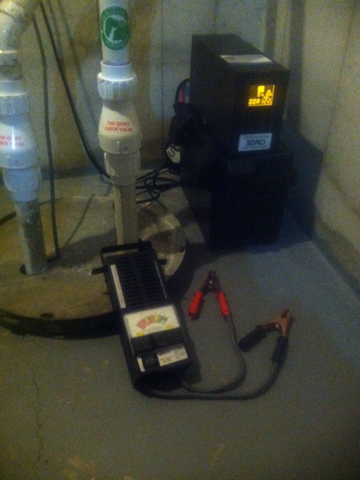 Plainfield, IL - Load test backup system battery
