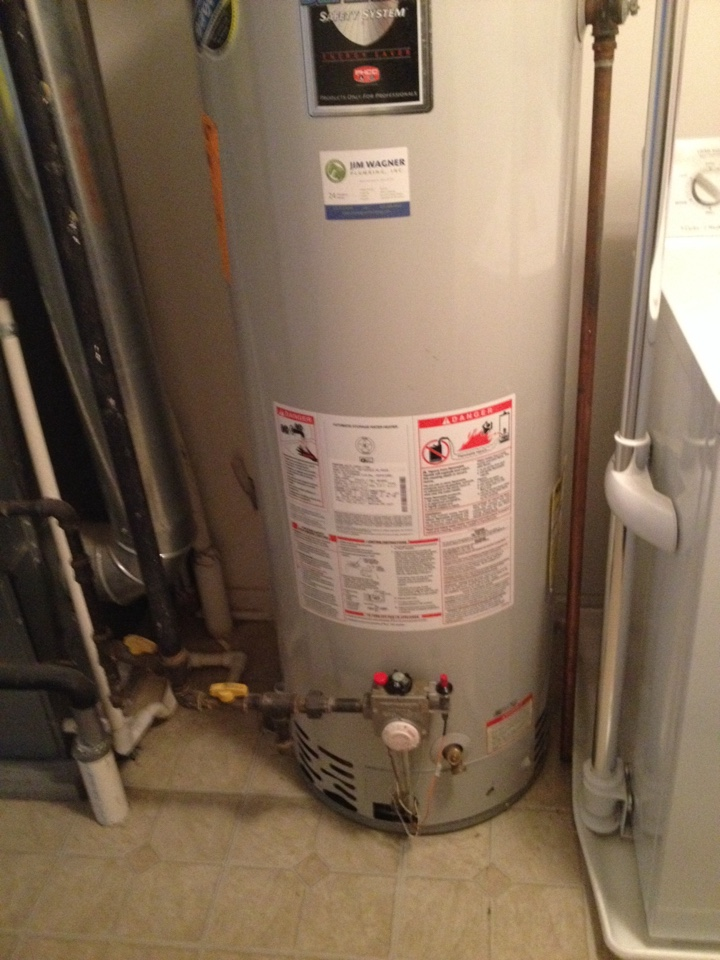 Naperville, IL - Water heater repair