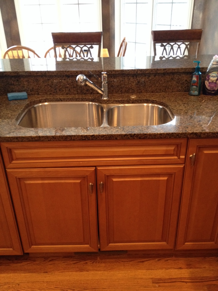 Naperville, IL - Install new kitchen faucet