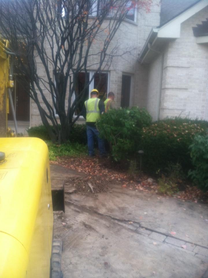Lisle, IL - Copper pipe under concrete slab repair