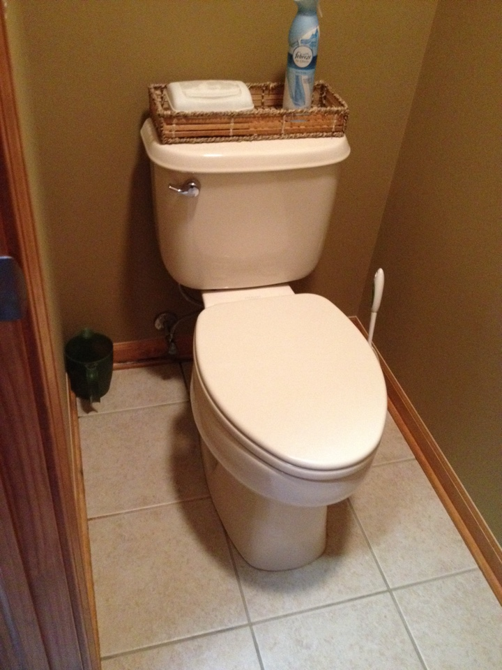 Plainfield, IL - Replace a water supply pipe between the valve and toilet