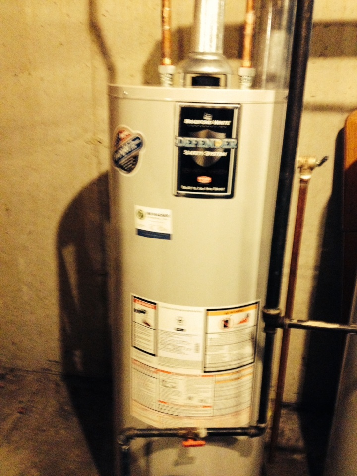 Naperville, IL - Install 50 gal water heater