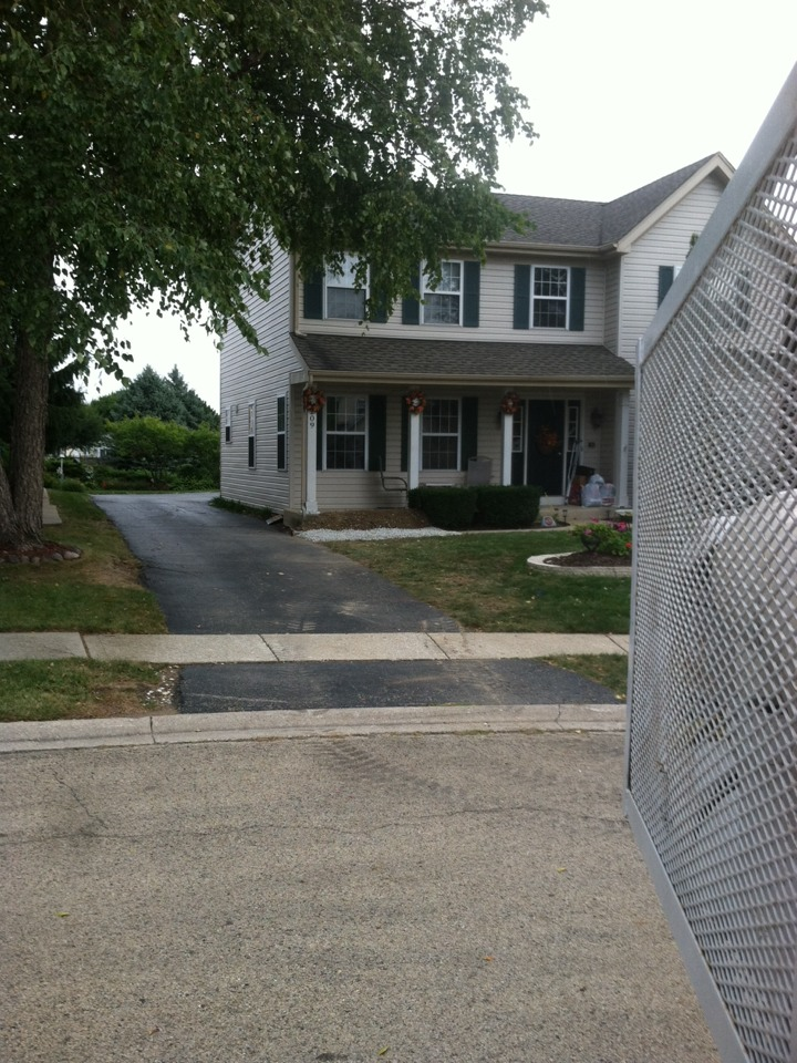 Plainfield, IL - Through wall sewer repair and outside rodding access cleanout installation