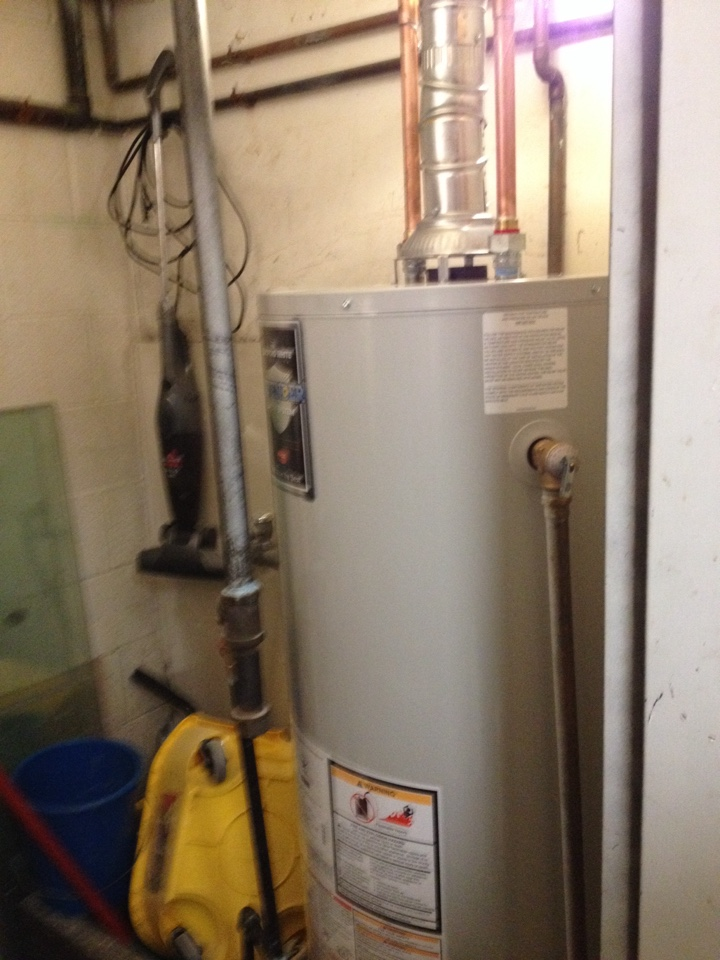 Orland Park, IL - Water heater installation