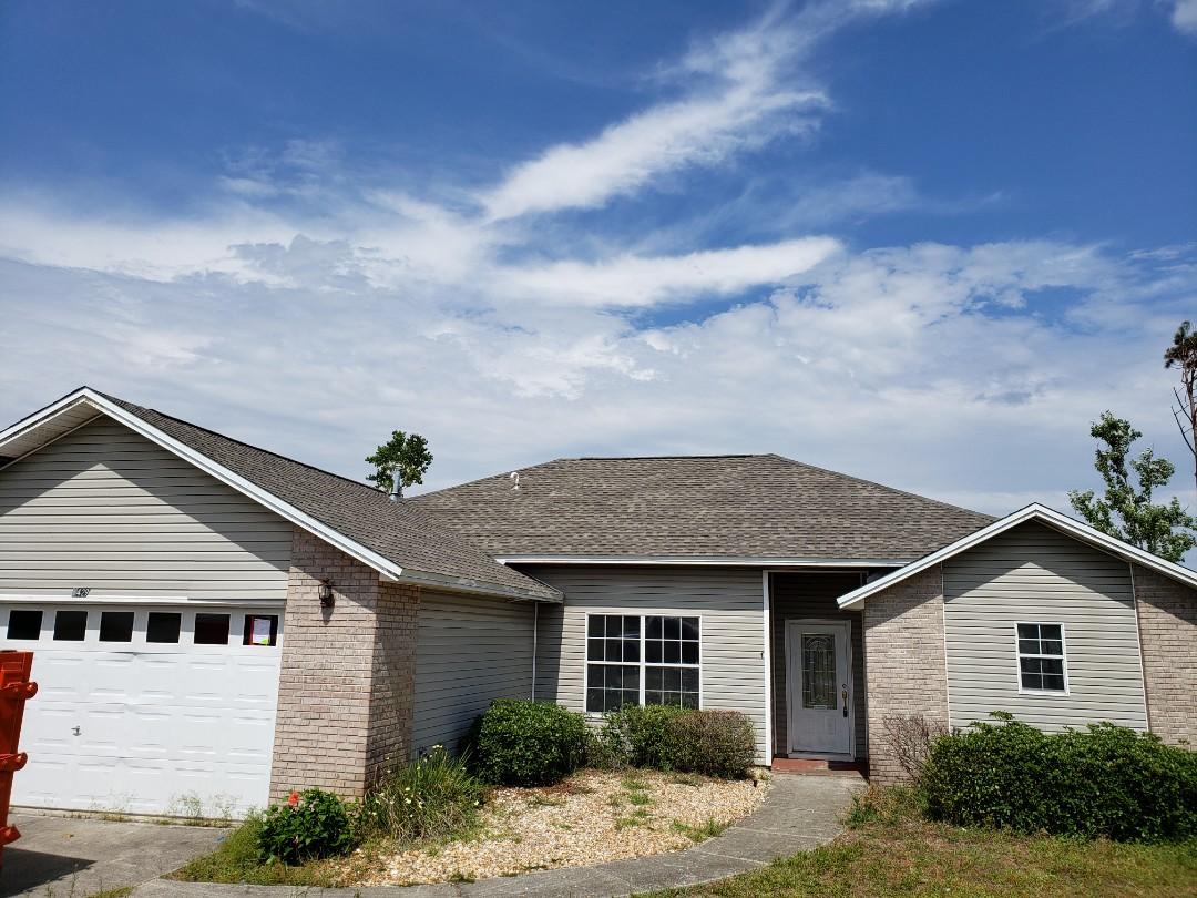 Panama City, FL - New GAF Weatherwood Timberline HD shingle roof