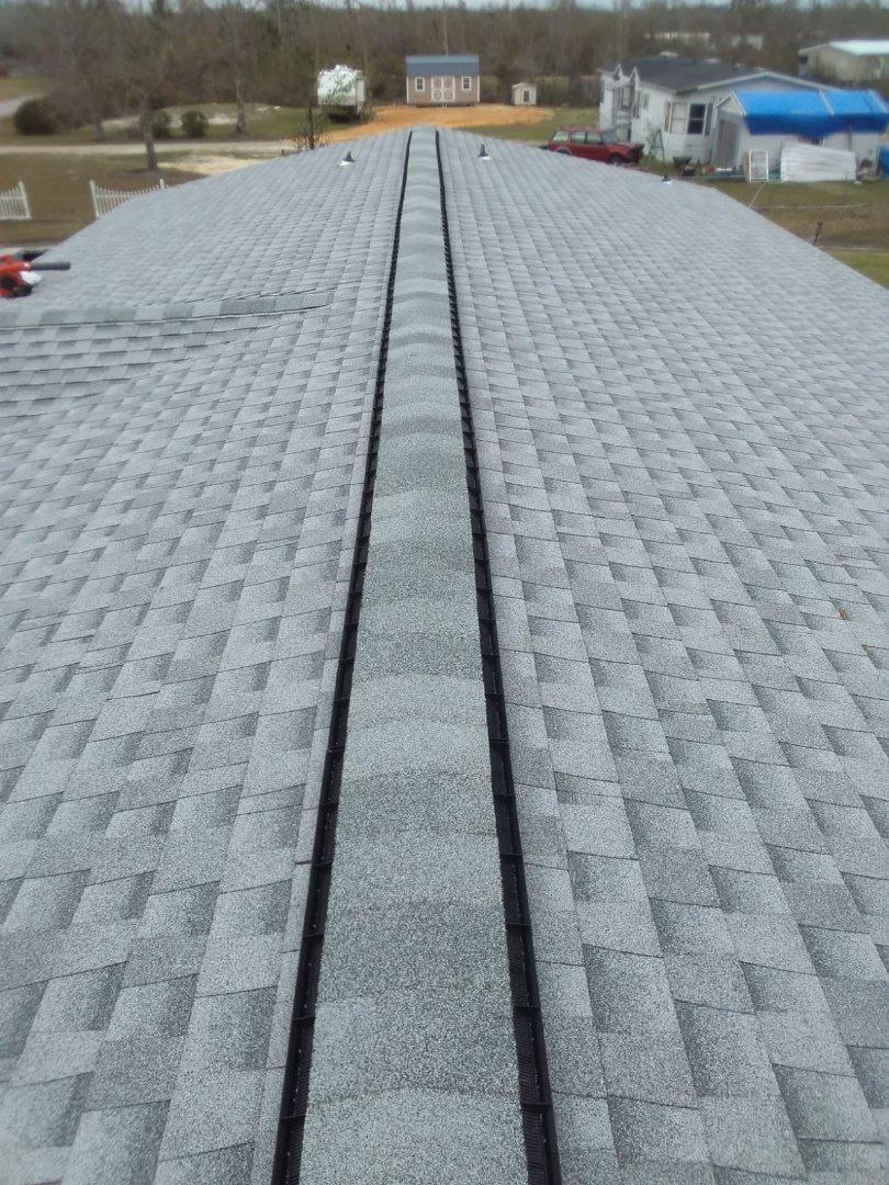 Panama City, FL - Panama City Florida New GAF Timberline HD Shingle Roof.