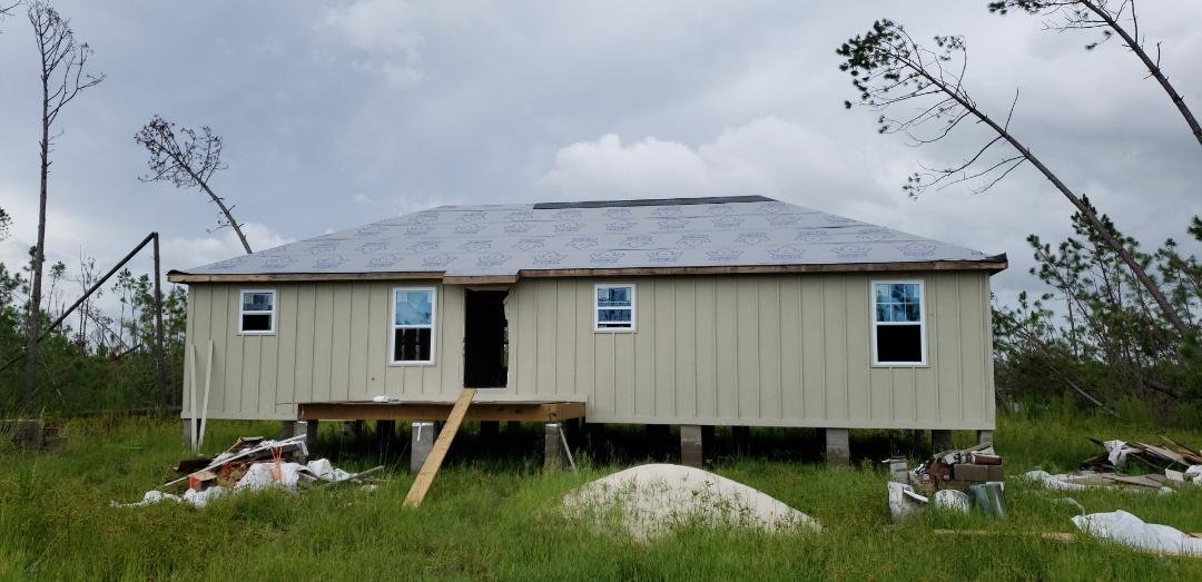 Panama City, FL - Panama City, Florida. We do new metal and shingle roofs on new homes as well!
