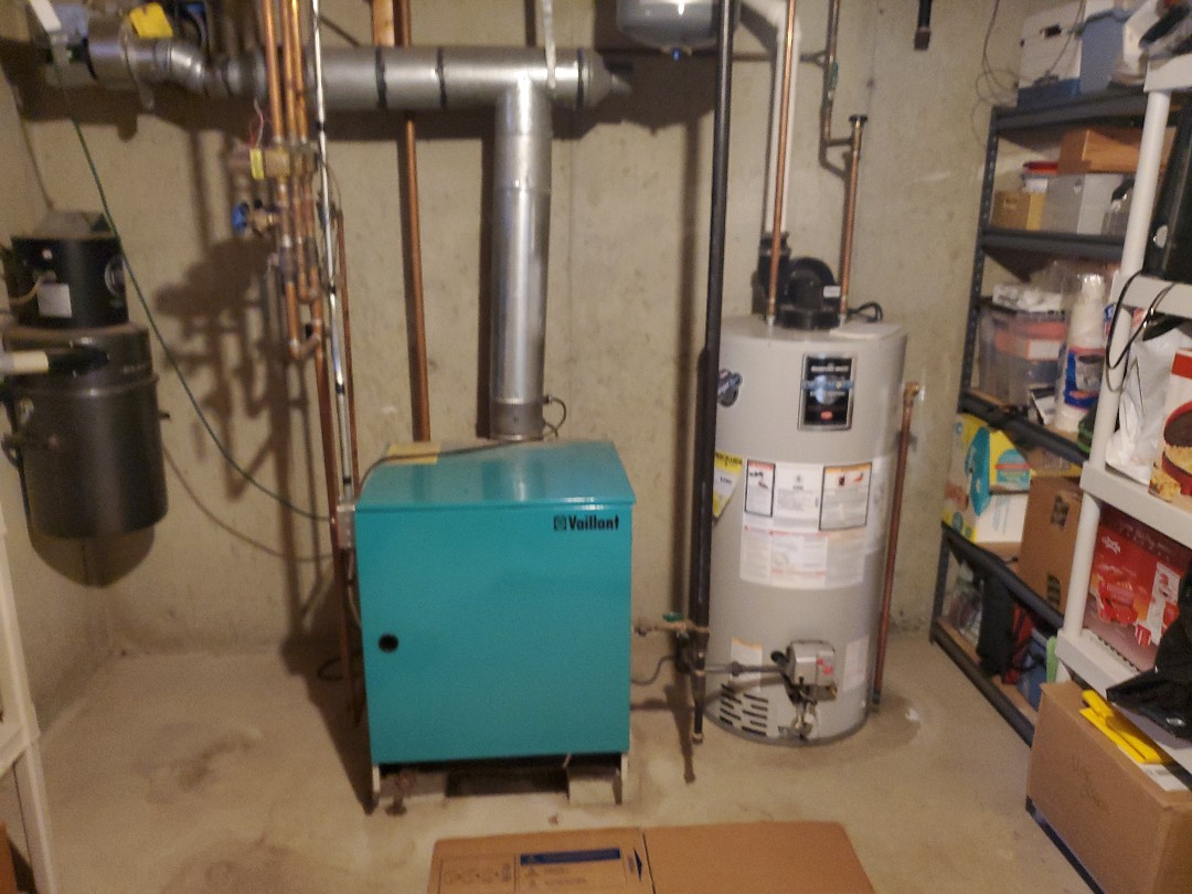 New High efficiency Combi boiler Install- Dracut, Ma