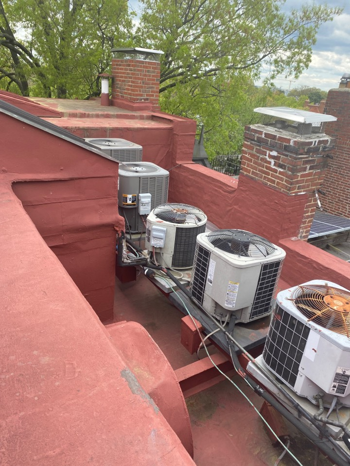 Washington, DC - Performed inspection and maintenance on cooling system at Washington DC NE.