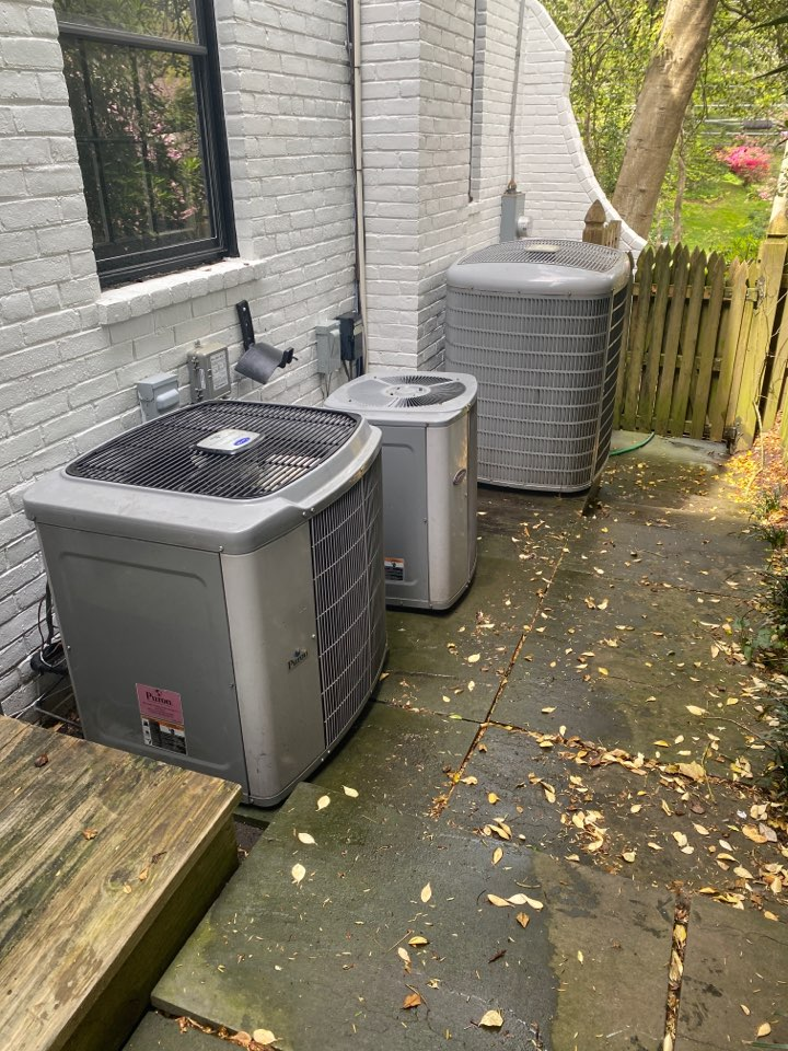 Chevy Chase, MD - Performed three zone cooling systems inspection and maintenance at Chevy Chase MD 20815.