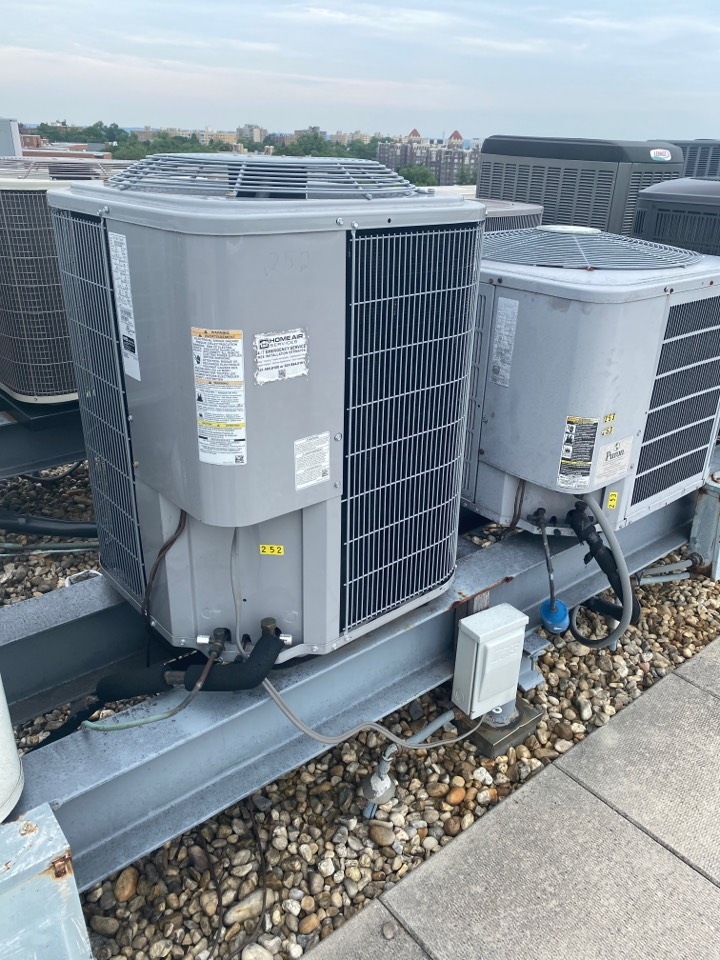 Washington, DC - Performed inspection and maintenance on three zone cooling systems Washington DC NW 20016.