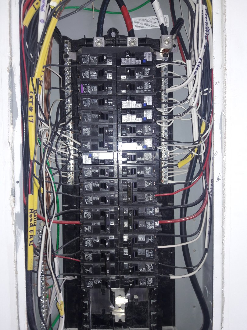Troubleshoot and replace faulty 20 amp circuit breaker for garage door. Pompano Beach,Fl