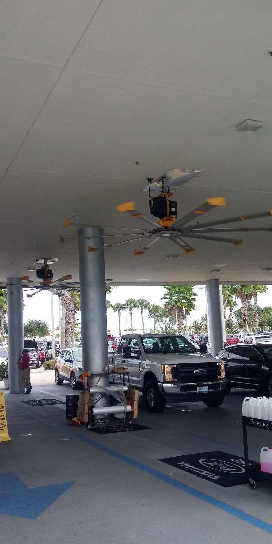 Replace VFD on big fan Daytona Auto Mall Daytona Fl