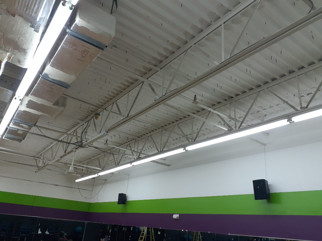 Miami, FL - Replacing T12 lamps and ballast YouFit Gym Miami Fl