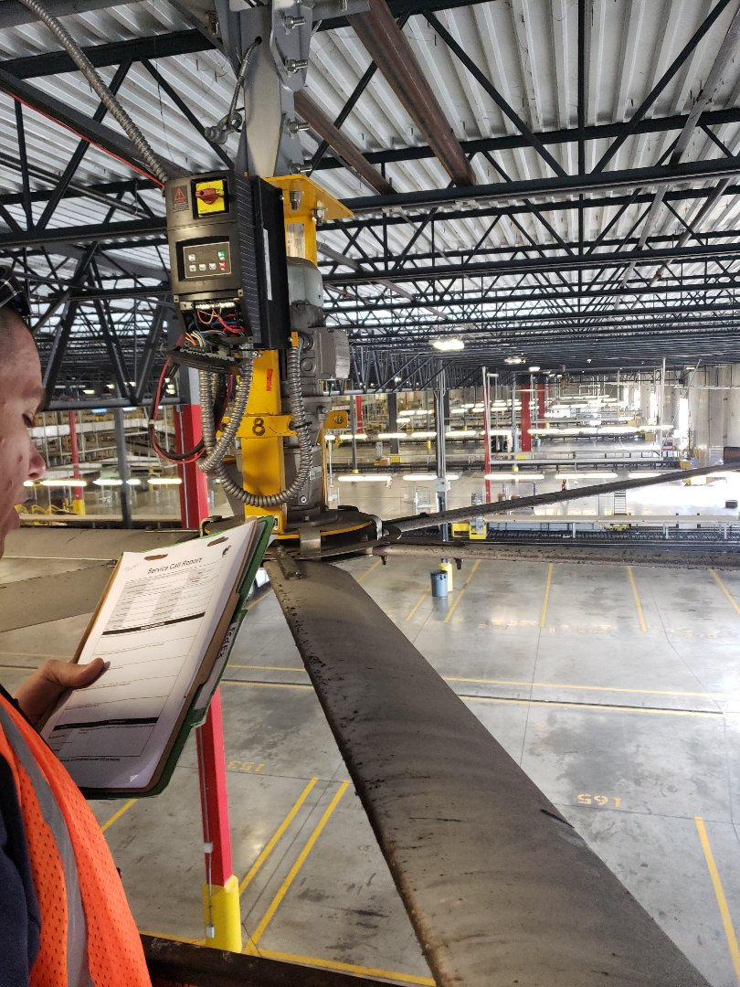 West Palm Beach, FL - Fan troubleshooting at FedEx | | Commercial Electrician near West Palm Beach, FL