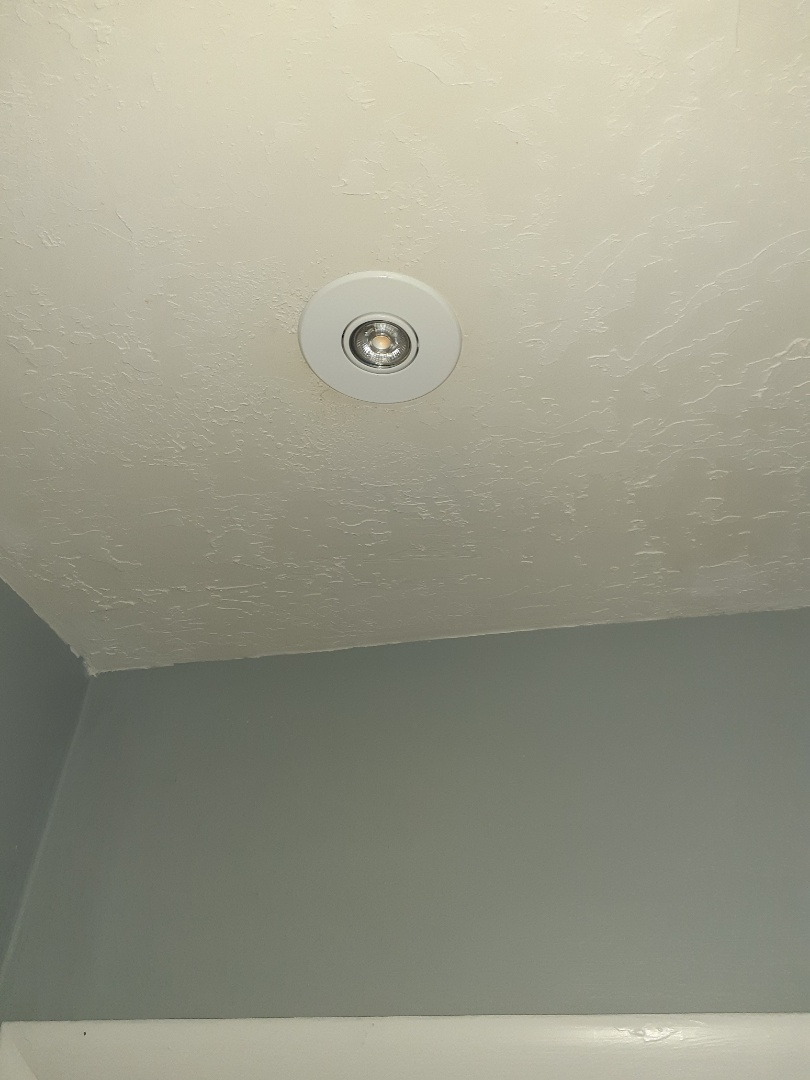 Miami, FL - Installing 4inch LED high hat fixtures in bedroom ceilings