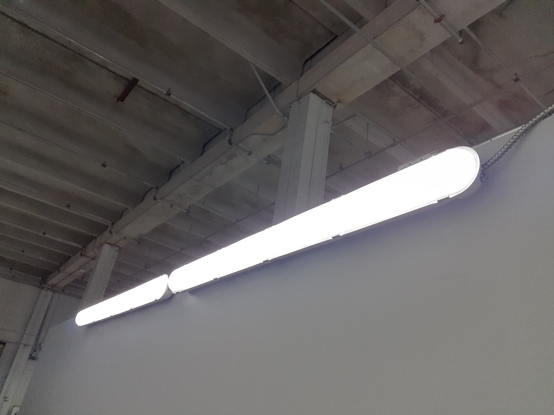Cutler Bay, FL - Install vapor proof LED fixture Bill Ussery Mercedes Benz  Miami Fl 33157