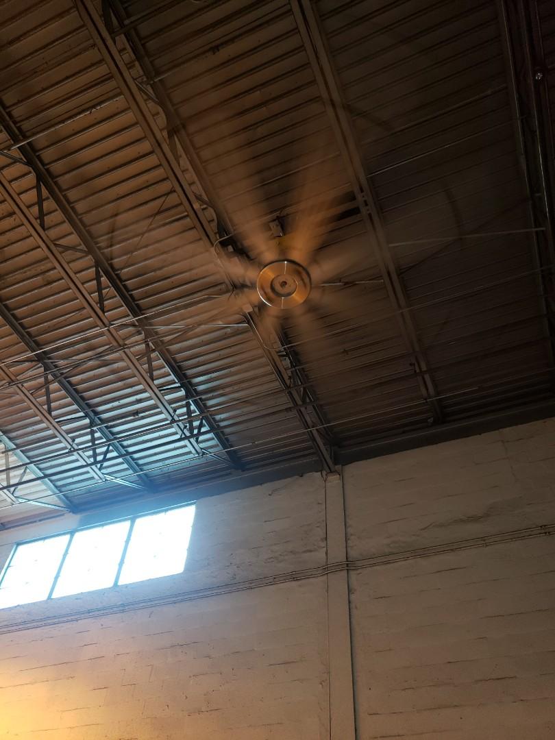 Fan repair at publix warehouse
