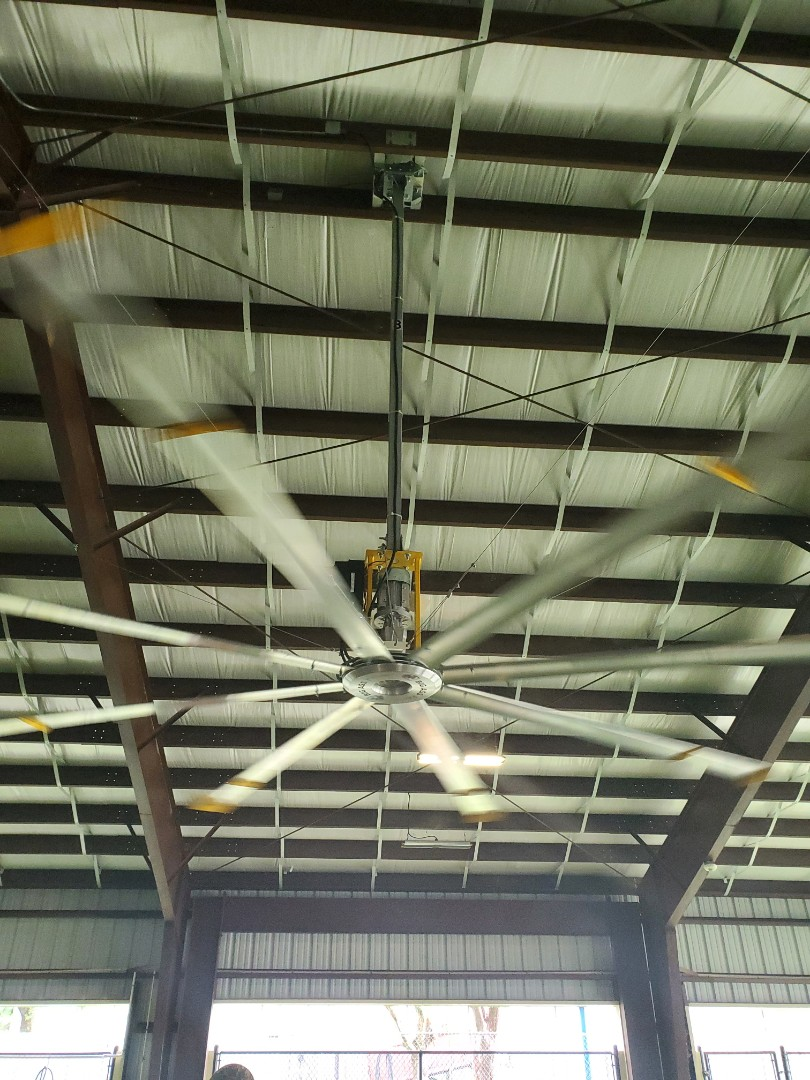 Pompano Beach, FL - Installed new big ass fan