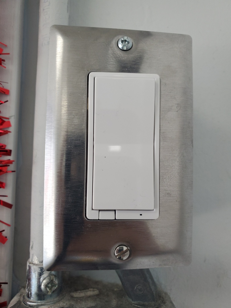 Miami, FL - Installed smart switch at animal hospital
