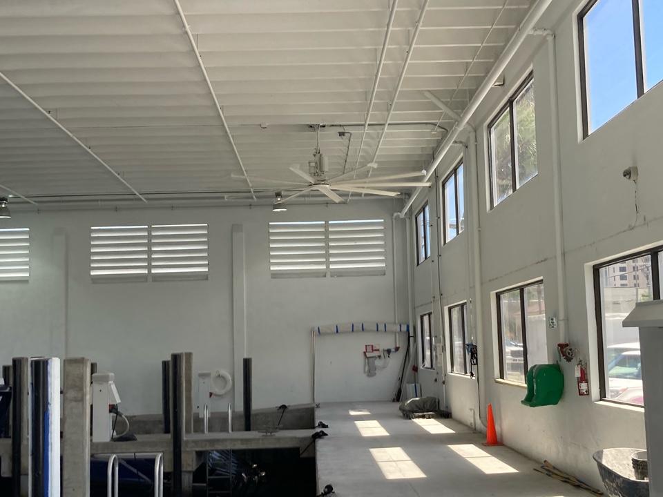 Fort Lauderdale, FL - Installed a new big ass fan