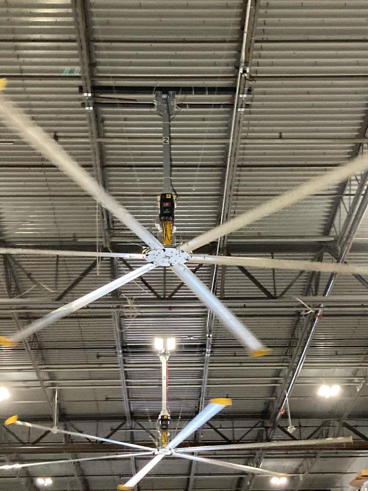 West Palm Beach, FL - Installed new big ass fans