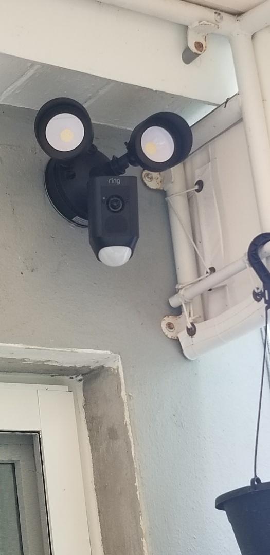 Surfside, FL - Installed 2 ring flood cam and 4 cameras in house. In surfside , fl