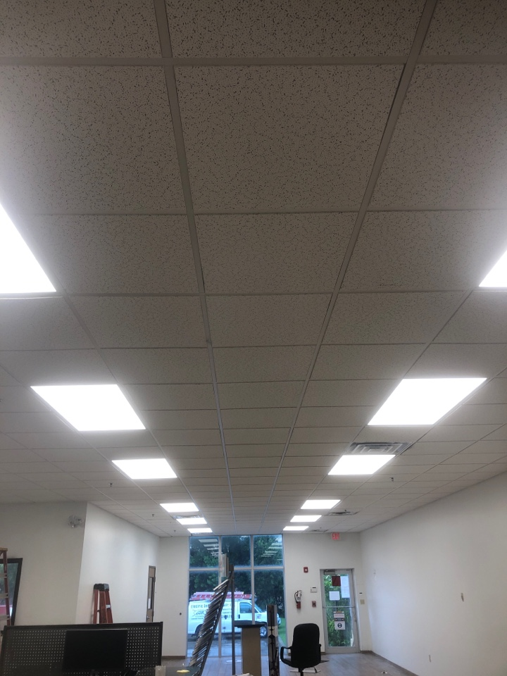 Doral, FL - Replaced 2x4 LED fixtures