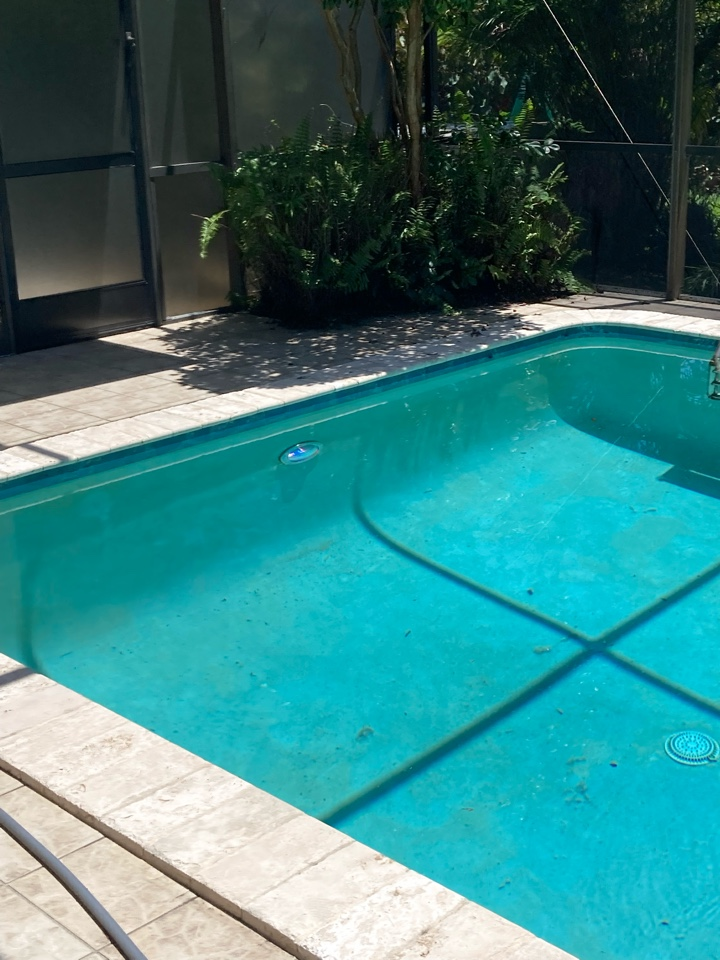 Installed new pool light