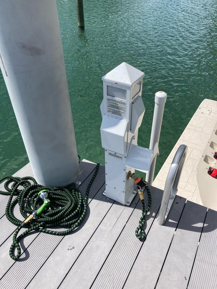 Installing New dock power