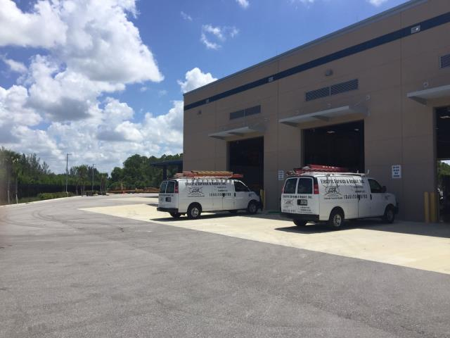 Commercial Electrician in Naples, FL performing electrical services and upgrades for SFWMD