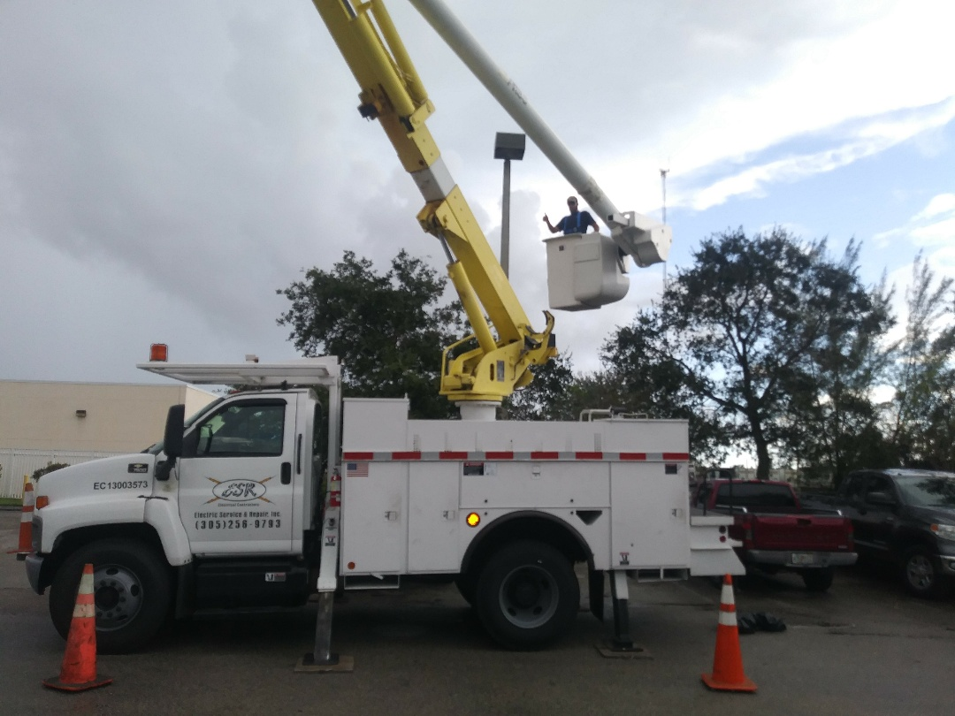 Retrofitting parking lot lights