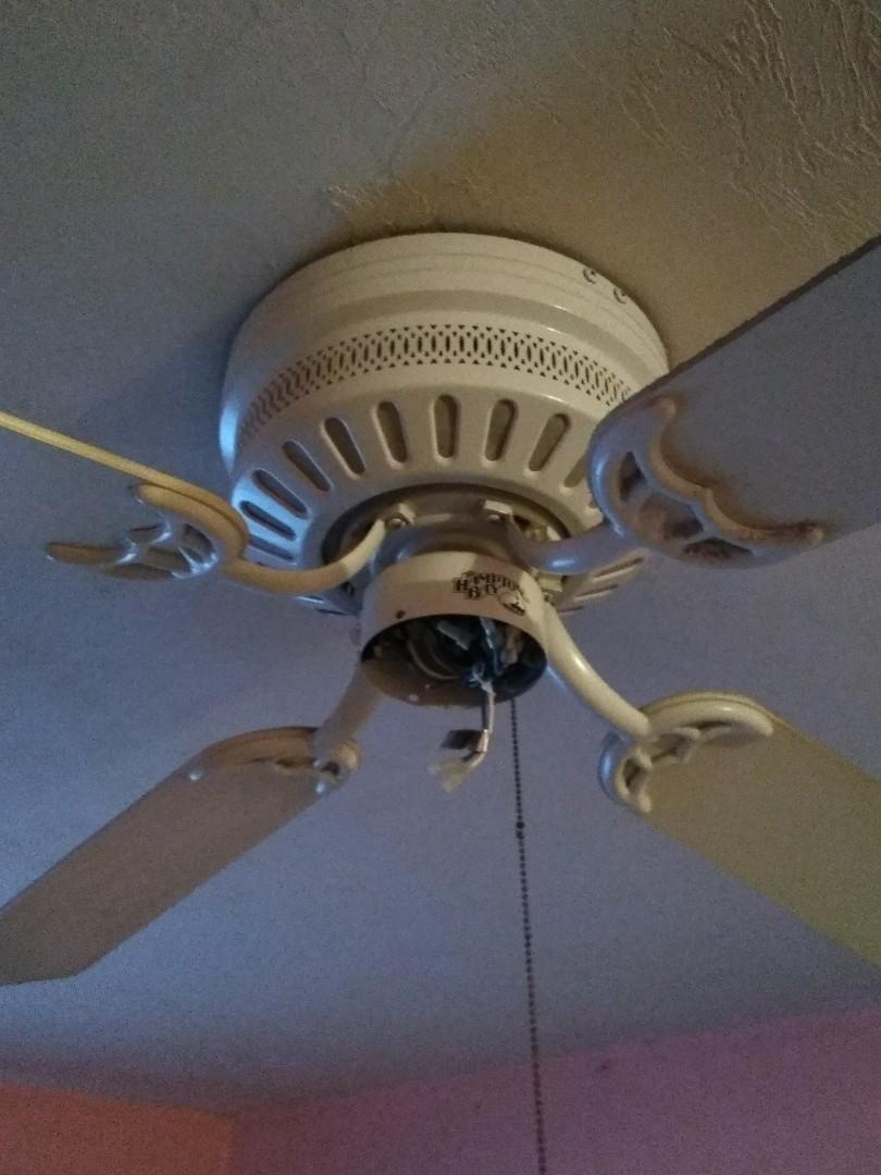 Opa-locka, FL - Replaced two ceiling fans. Opa-Locka,Fl