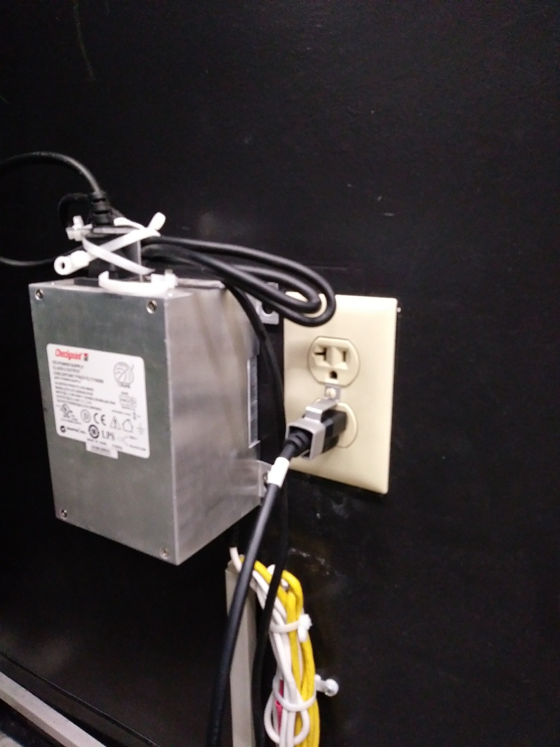 Install circuit for E.A.S system for Dollar General.
