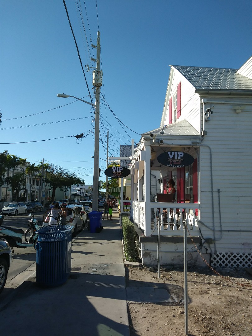 Key West, FL - Replacing porch light with new. Also installing new outlets for porch heaters.