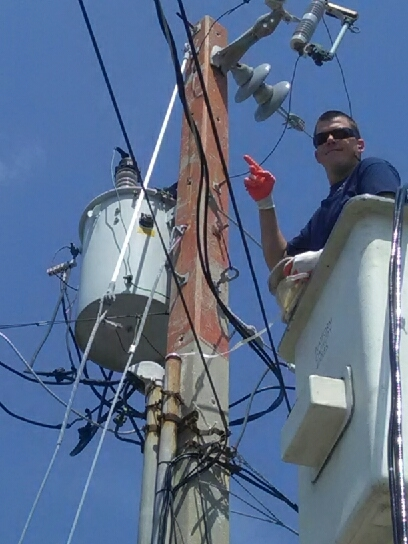 Key West, FL - Restoring power in paradice....