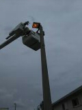 Hialeah, FL - Fix ballast and bulb on light pole