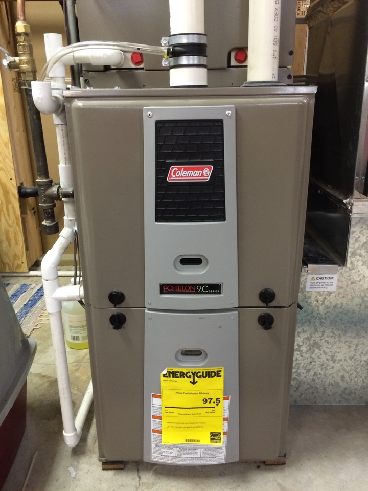 Inver Grove Heights, MN - Annual maintenance on Coleman furnace
