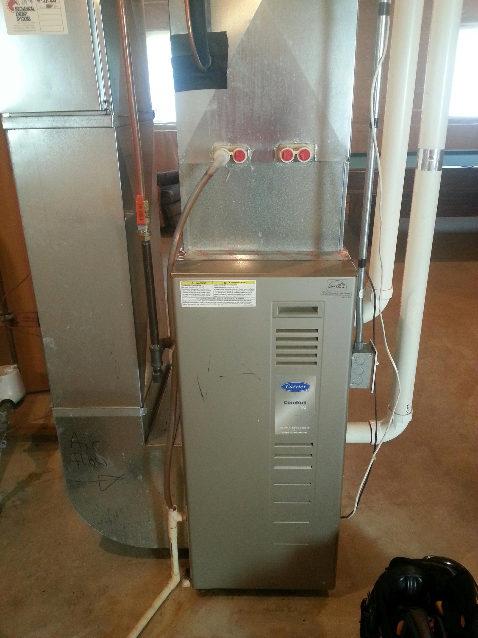Carrier furnace maintenance