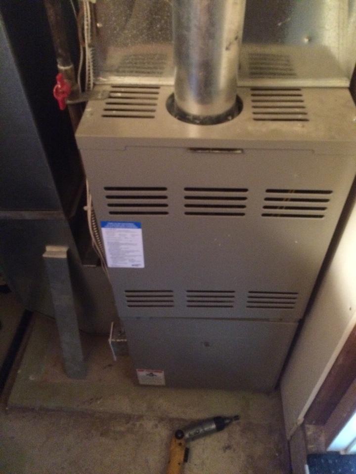 Hopkins, MN - Service on Goodman furnace