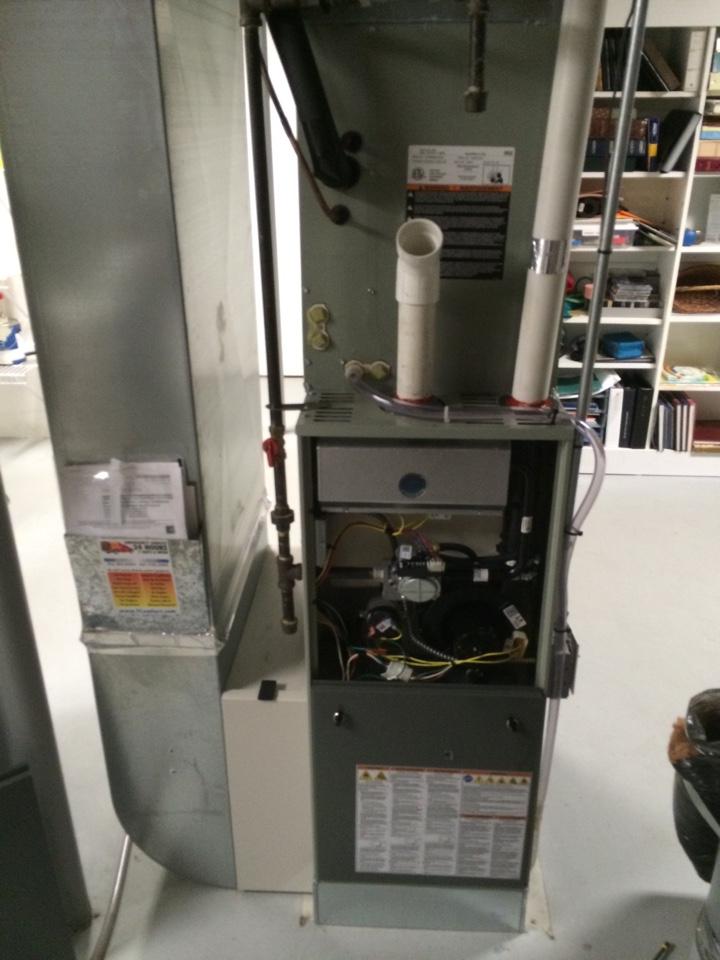 Excelsior, MN - Maintenance on Trane furnace